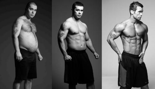 мотивация для тренажерки до и после