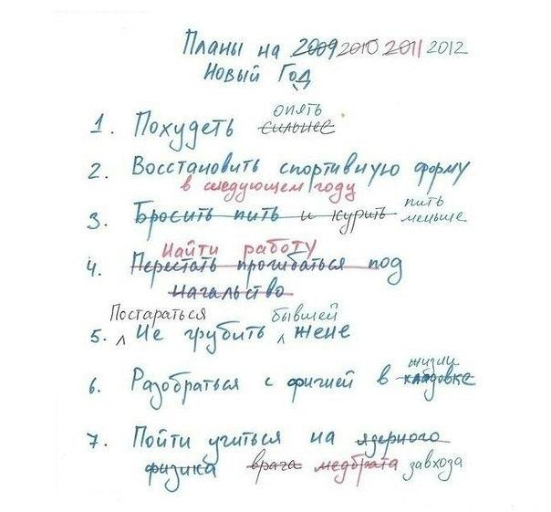 список для мотивации